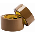 3M™ Brown Packing Tape (50mm by 66m)
